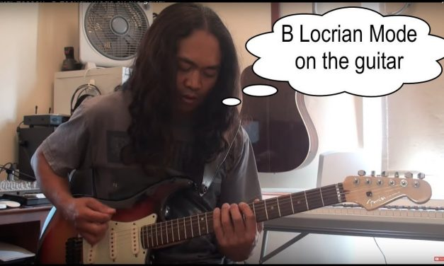 Guitar Lesson – B Locrian Mode on the guitar