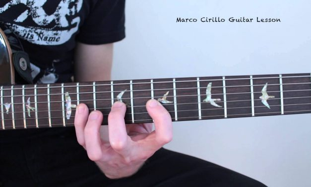Pentatonic Rock Solo in Bminor with Tab and Backing Track – PentaTrip – by Marco Cirillo