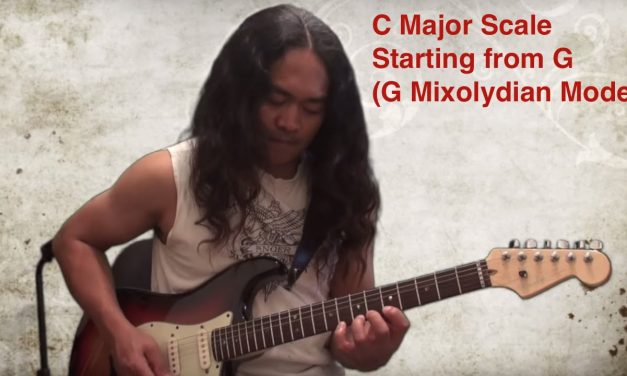 Guitar Lesson – G Mixolydian Mode on the guitar