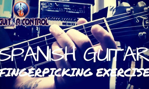 Spanish Guitar Fingerpicking Exercise – Acoustic Guitar Lesson