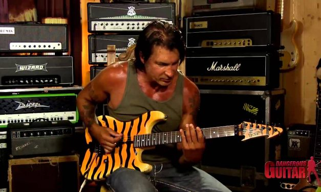 George Lynch –  Creating riffs and licks using shapes from the Blues Scale