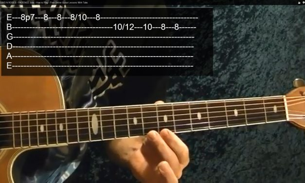 LED ZEPPELIN – Over the Hills and Far Away – Intro – Guitar Lesson