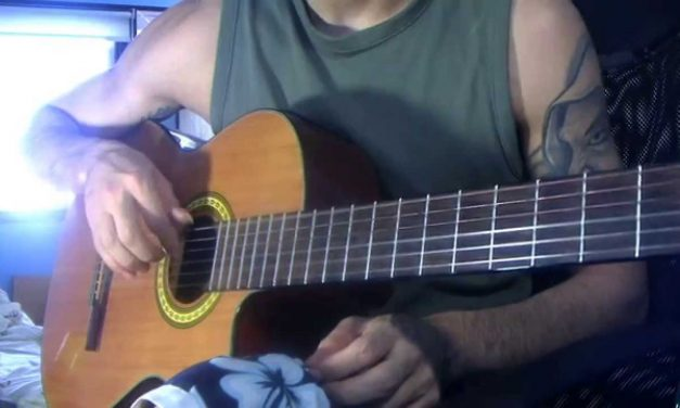 Study in E-minor: Guitar Lesson. (WITH TABS!) ;D Part ~A~