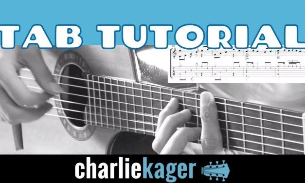 The Ludlows [TAB TUTORIAL 11A] Acoustic Fingerstyle Guitar