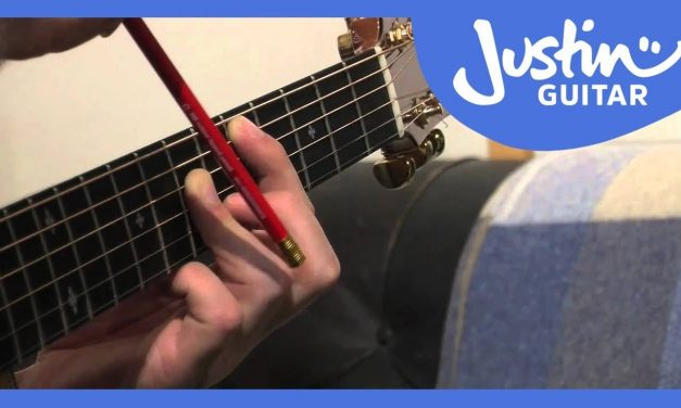 A Shape Major Barre Chord Grip – How to Play Guitar – Stage 3 Guitar Lesson [IM-131]