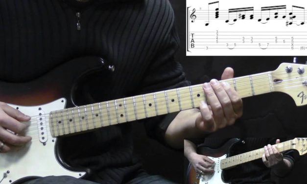 Jimi Hendrix – Castles Made Of Sand – Rock Guitar Lesson (with TABS)
