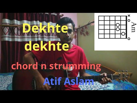 Dekhte dekhte – || Atif Aslam || easy guitar lesson by GuitarTrick