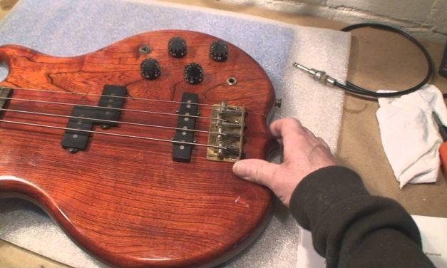 Professional Guitar Repair Estimate