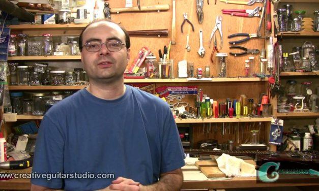 Repairing a Broken Guitar Headstock – Part One