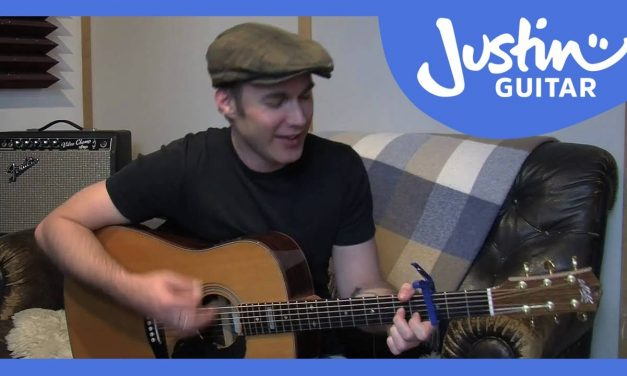 Feelin Alright – Joe Cocker (Easy Songs Beginner Guitar Lesson BS-102) How to play