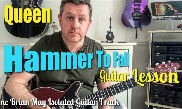 Queen Hammer To Fall Guitar Lesson Brian May Isolated Guitar Track