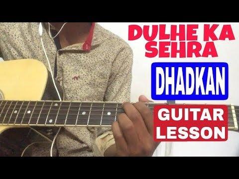 Dulhe Ka Sehra Guitar Chord Lesson In Hindi | Easy Guitar Tutorial For Beginners |