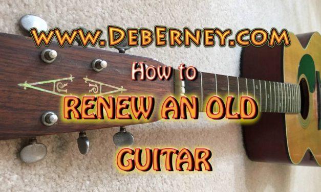 Renew an old guitar – GUITAR REPAIR