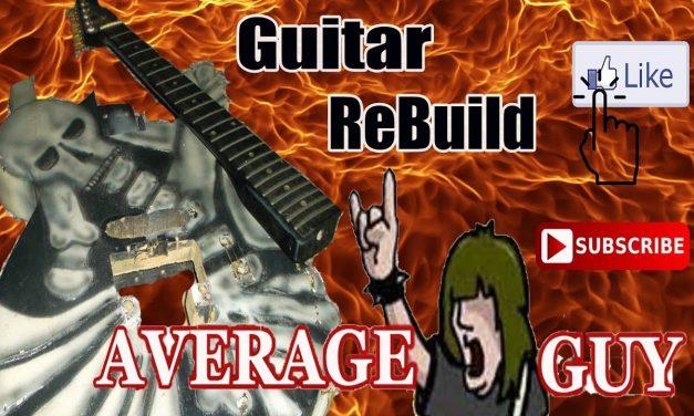 skull guitar repair rebuild