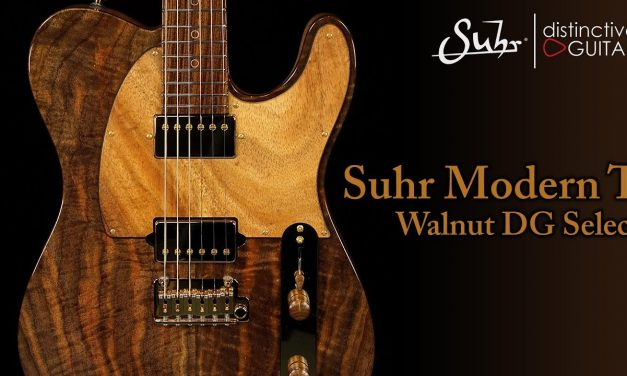 Suhr Classic T Custom Distinctive Select | Walnut & Koa