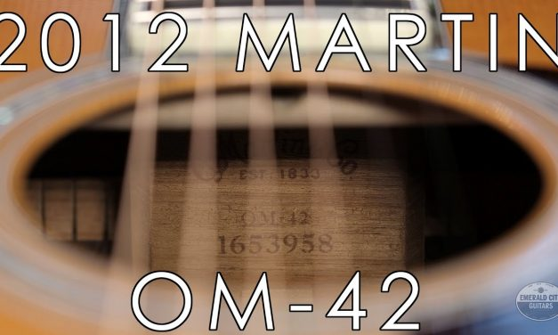 """Pick of the Day"" – 2012 Martin OM-42"