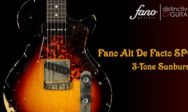 Fano SP6 Alt De Facto | 3-Tone Sunburst