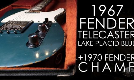 """Pick of the Day"" – 1967 Fender Telecaster and 1970 Fender Champ"