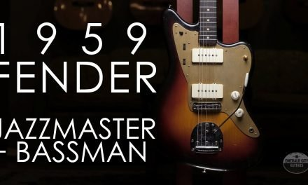 """""""Pick of the Day"""" – 1959 Fender Jazzmaster *and* Bassman"""