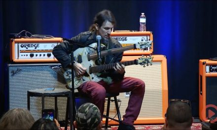 Bumblefoot at Replay Guitar Exchange