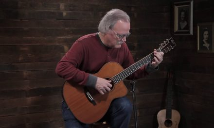 Randy Wimer – Bourgeois OMSC Fingerstyle Custom – Redwood & Cocobolo