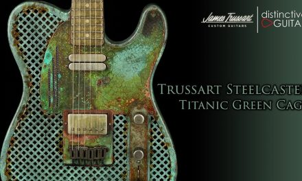 James Trussart SteelCaster | Caged Titanic Green