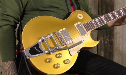A Les Paul with a Bigsby?! Gibson Guitar of the Month LP-295 (2008) | Elderly Instruments