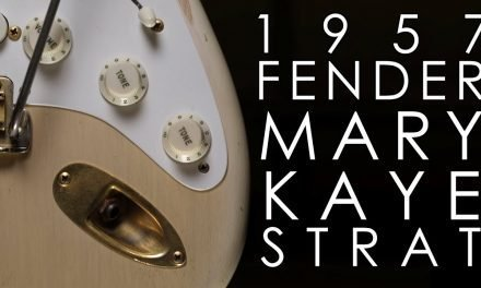 """Pick of the Day"" – 1957 Fender Mary Kaye Stratocaster"