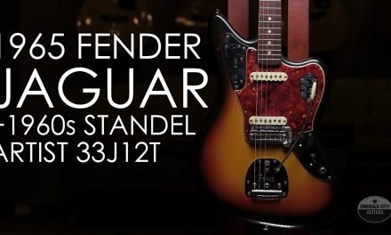 """Pick of the Day"" – 1965 Fender Jaguar and 1960s Standel Artist 33J12T"