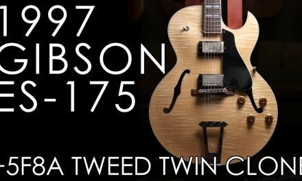 """Pick of the Day"" – 1997 ES-175 and 5F8-A Tweed Twin Clone"