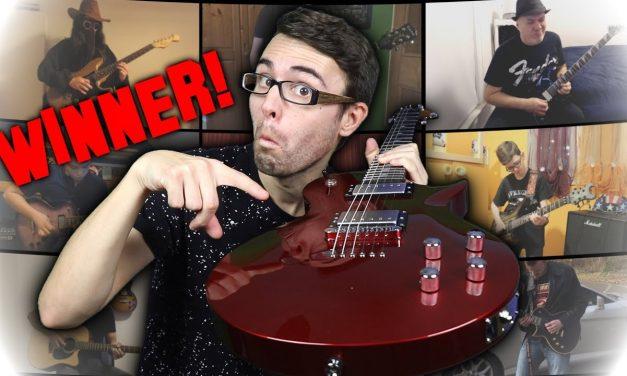 Bendiest Guitar Solo WINNER!