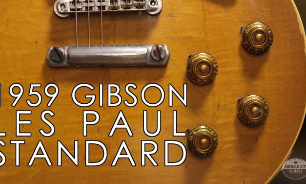 """""""Pick of the Day"""" – 1959 Gibson Les Paul Standard """"Son Of A Preacher Man"""""""