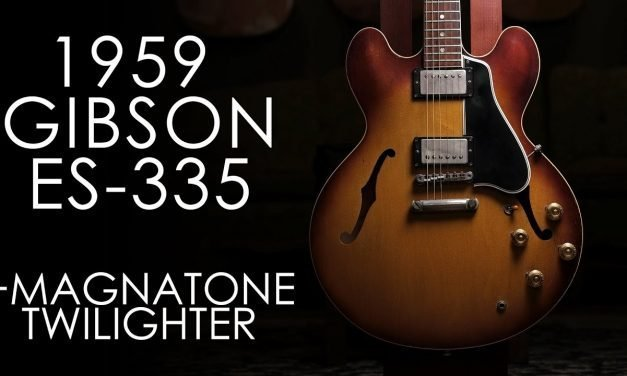 """""""Pick of the Day"""" – 1959 Gibson ES-335 and Magnatone Twilighter"""