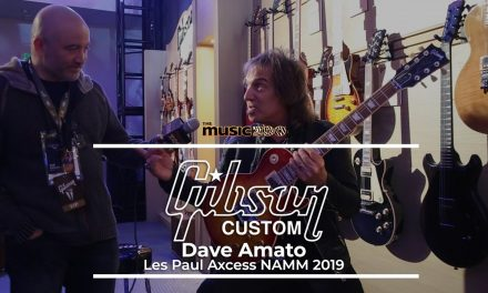 NAMM 2019 Dave Amato of REO Speedwagon Interview!