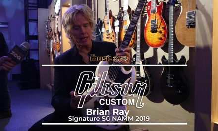 NAMM 2019 Brian Ray Signature Gibson Custom Shop SG Interview!