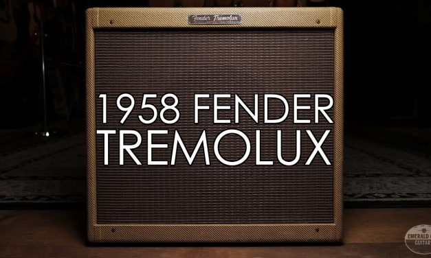 """""""Pick of the Day"""" – 1958 Fender Tremolux"""