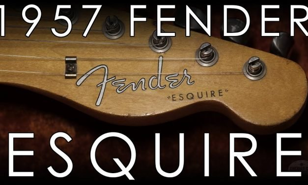 """Pick of the Day"" – 1957 Fender Esquire"