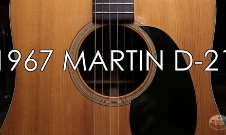 """Pick of the Day"" – 1967 Martin D-21"