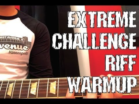 Extreme Challenge Riff Warmup (Death Theater)