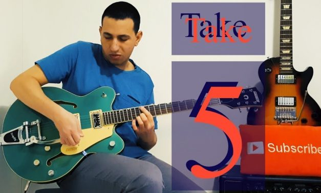 Dave Brubeck – Take Five Guitar Cover +tabs and backing track
