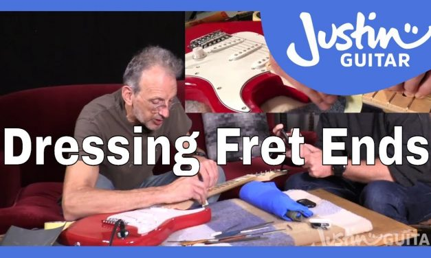 Dressing Fret Ends | How To Setup Your Electric Guitar [10/10] with Charlie Chandler