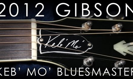 """Pick of the Day"" – 2012 Gibson Keb' Mo' Signature 'Bluesmaster'"