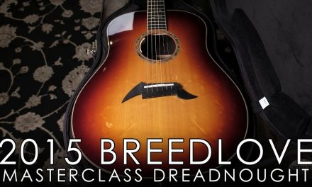 """Pick of the Day"" – 2015 Breedlove Masterclass Dreadnought"