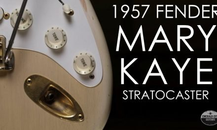 """Pick of the Day"" – Revisiting the 1957 Fender ""Mary Kaye"" Stratocaster"