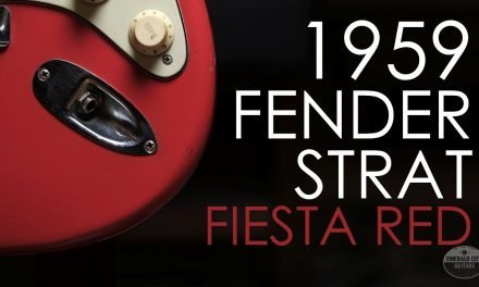 """Pick of the Day"" – The story behind a 1959 Fender Stratocaster in Fiesta Red"