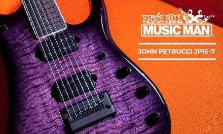 Ernie Ball Music Man John Petrucci JP15-7 At The Music Zoo!