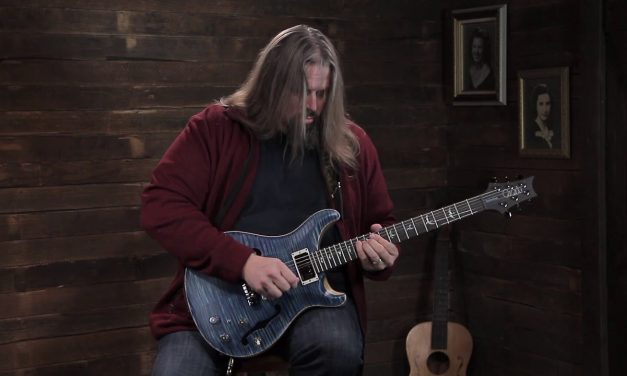 Paul Reed Smith Wood Library Hollowbody II – Faded Whale Blue Satin