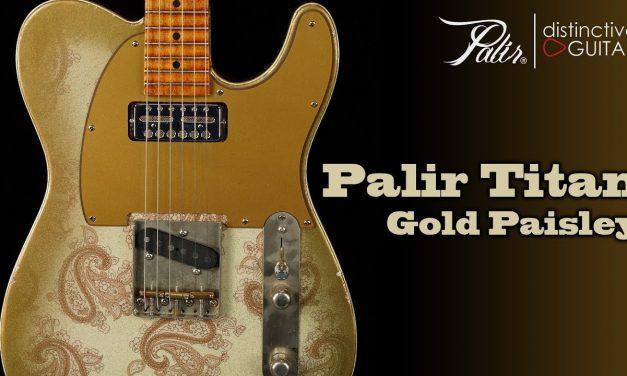 Palir Titan   Gold Paisley w/ Lollar Gold Foil