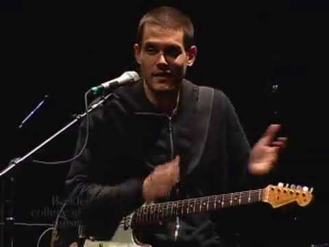 """John Mayer – """"How To Build A Guitar Solo"""" – Berklee Clinic 2008 (Pt.5)"""