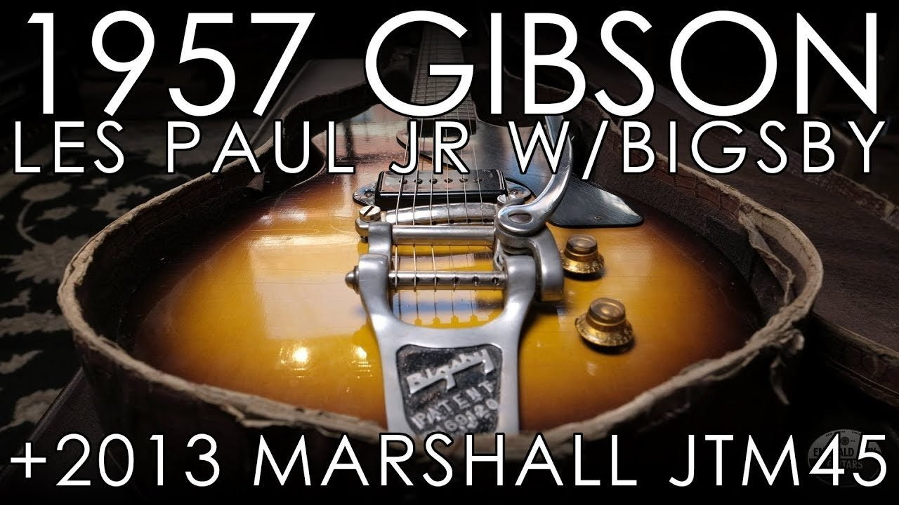 Pick Of The Day 1957 Gibson Les Paul Junior Wbigsby And 2013